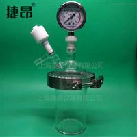 JDF微型磁力攪拌低壓高溫玻璃反應釜