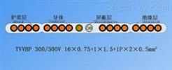 TVVB单芯排列带屏蔽扁形电梯电缆