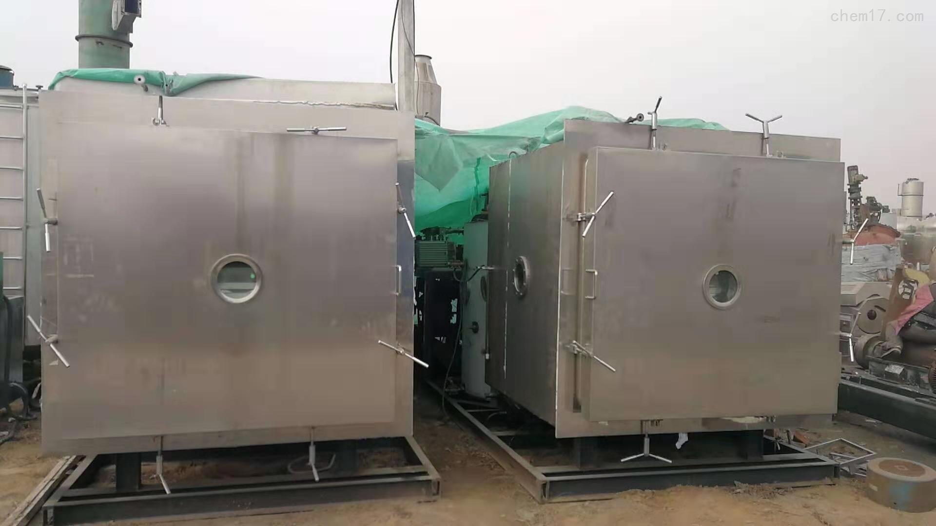 二手20平方不锈钢冻干机回收价格