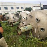 出售二手3吨不锈钢电加热反应釜