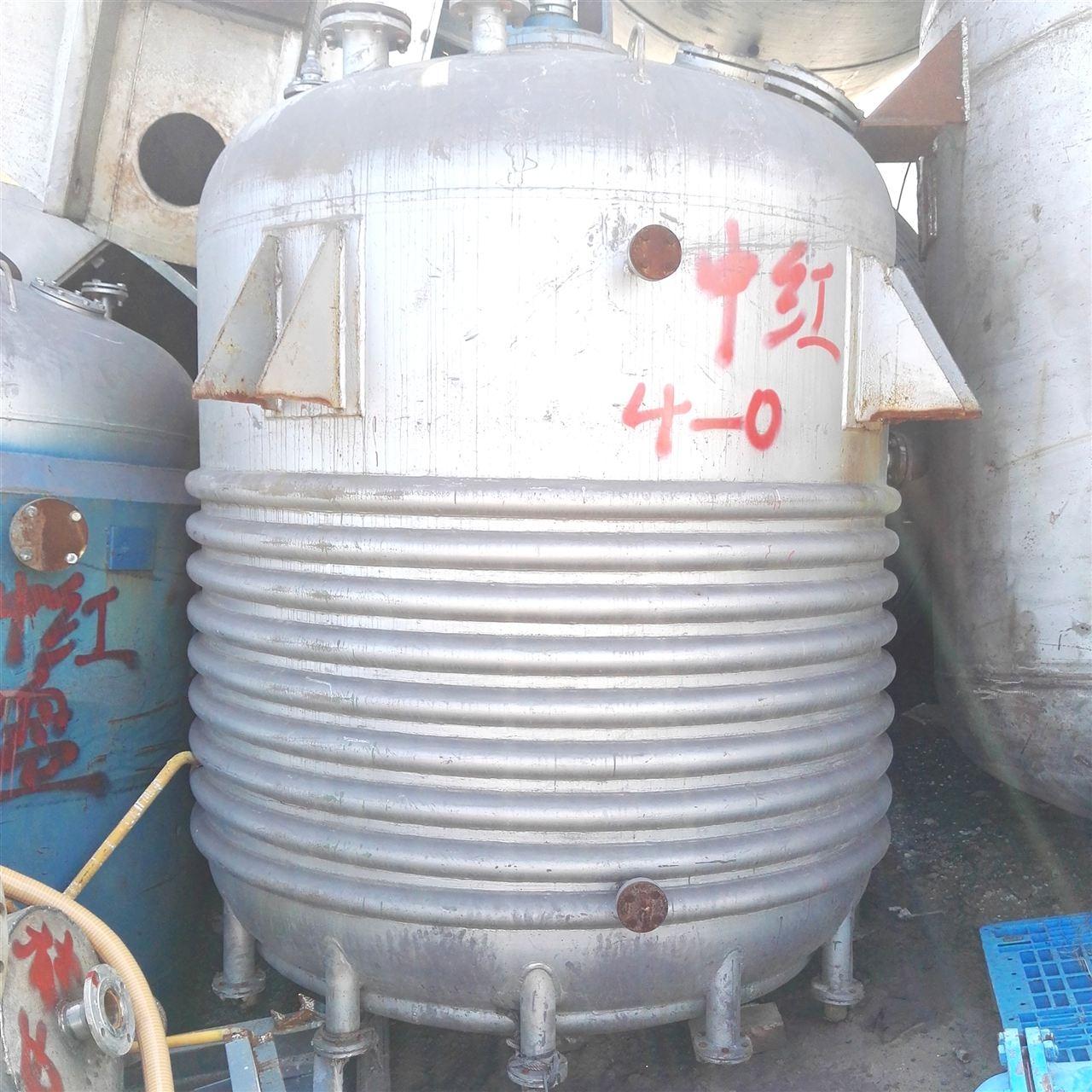 高价回收1-10立方二手不锈钢结晶釜