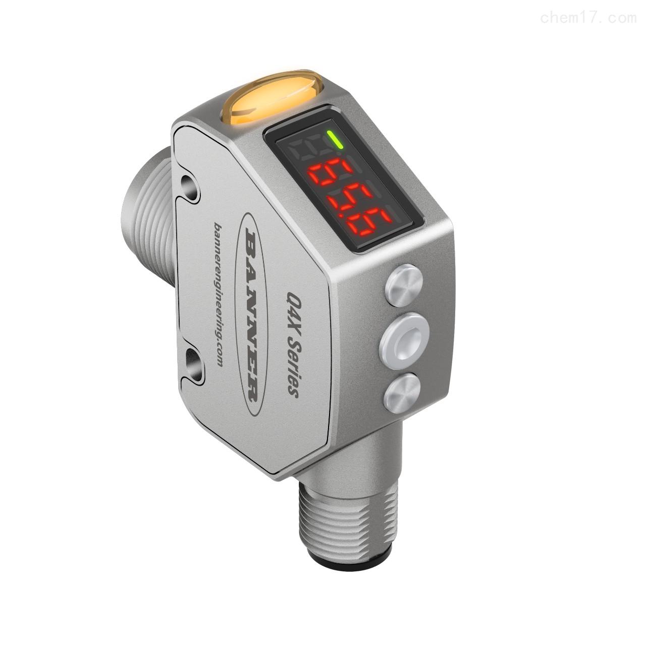 坚固耐用的全能型美国邦纳BANNER光电传感器
