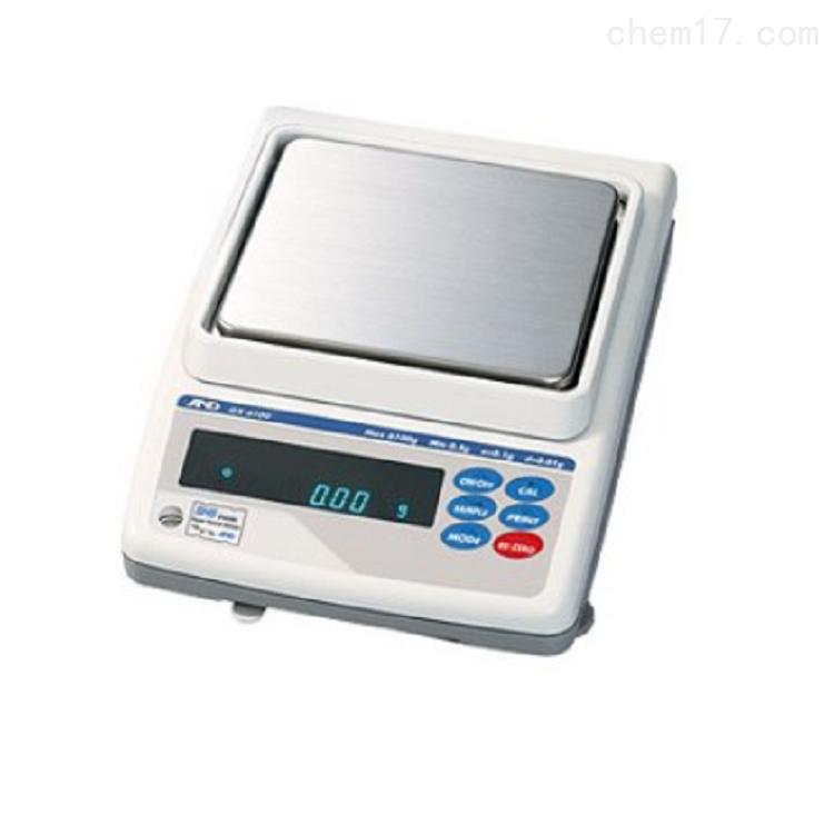 艾安得AND精密天平GX-4000 电子秤使用方法