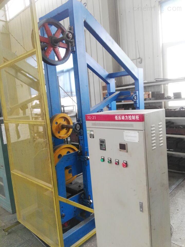 电梯钢丝绳弯曲疲劳试验机