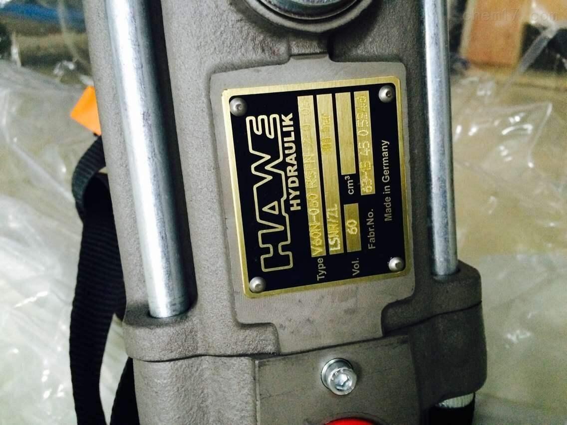 德国哈威HAWE代理气动液压泵双级泵