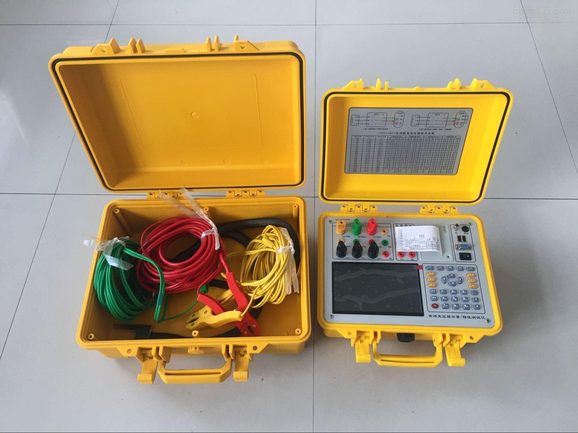 彩屏三相变压器容量特性测试仪