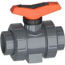 546 Pro PVC-U美国G+F带溶剂水泥套筒公制球阀