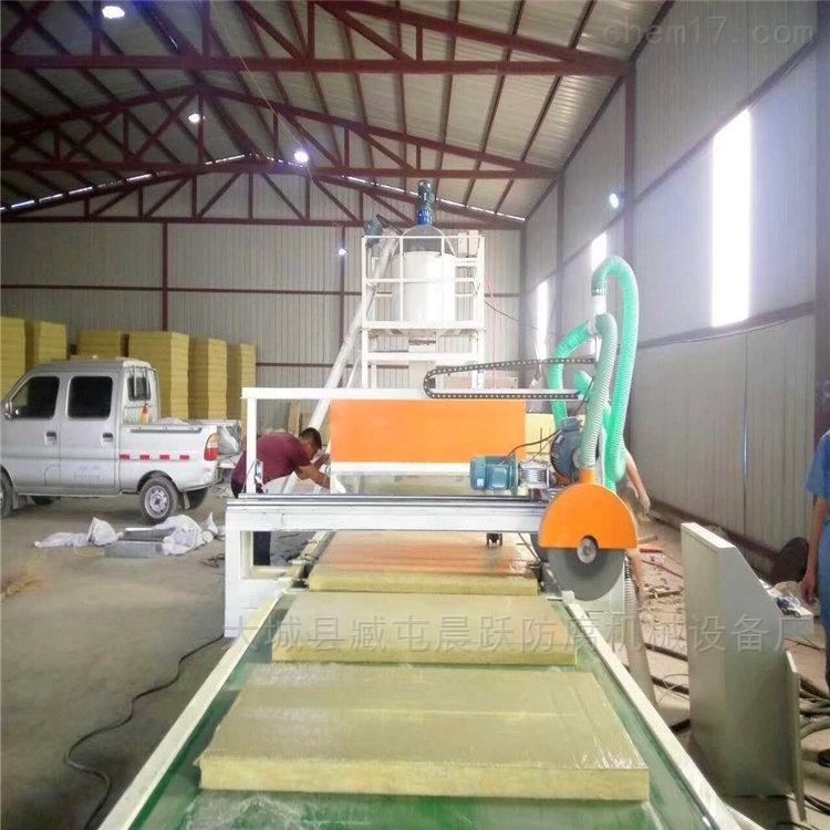 机制双麻面砂浆岩棉复合板设备