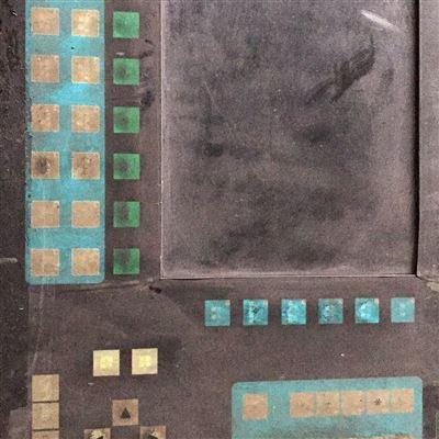 西门子840DSL屏幕显示花屏闪屏维修视频