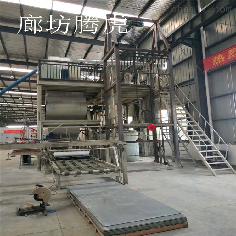 匀质板生产设备设计新颖结构合理运行平稳