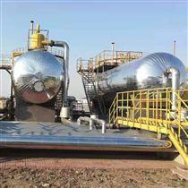 化工厂管道保温白铁皮保温专业施工