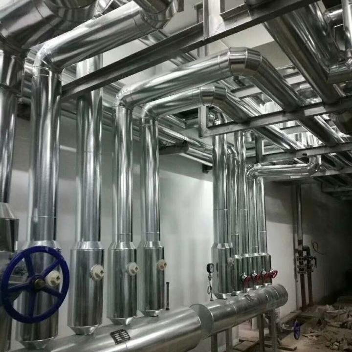 铝皮机房管道保温施工