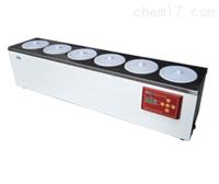 单列六孔电热恒温水浴锅