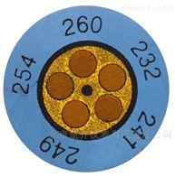 testoterm迷你钟形温度贴+199 ~ +224 °C