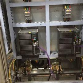 天津西门子6SE7027运行电机堵转维修