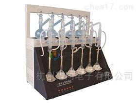 镇江市氨氮蒸馏器JTZL-6C挥发酚蒸馏装置