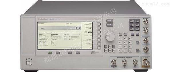 安捷伦E8257C开机无显示维修信号发生器