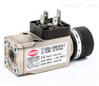 VDS-1-000-E-2-1barcontrol真空压力开关VDS-1-000-M-2-1