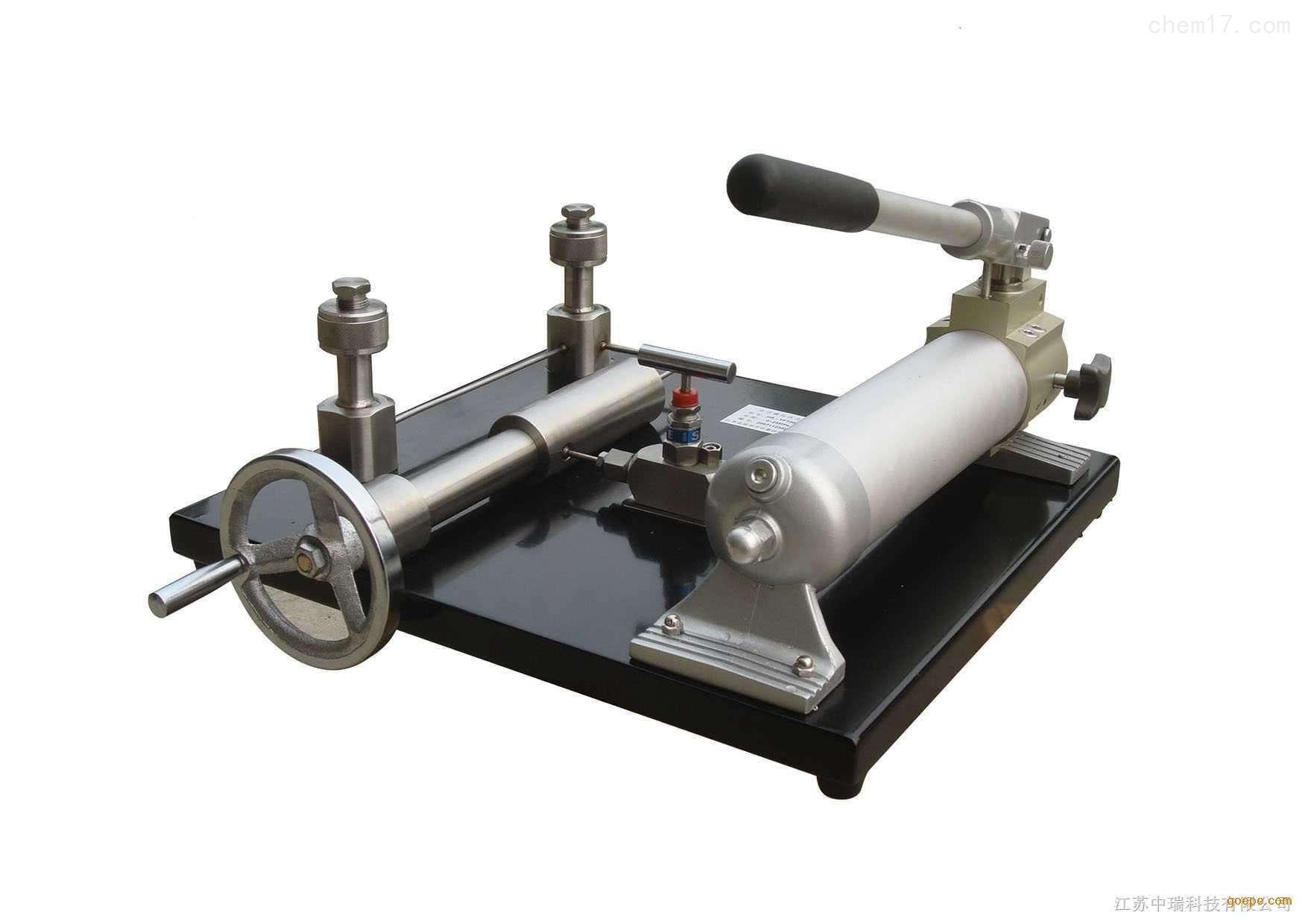 电动压力效验台应用