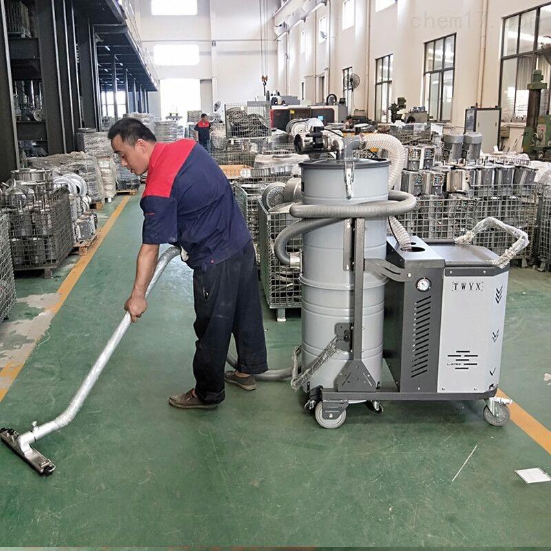 钢铁厂地面铁屑钢屑粉尘清理专用吸尘器