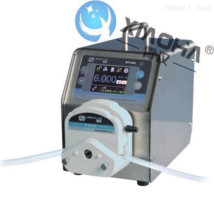 BT100L流量型智能蠕动泵YZ15(25)泵头