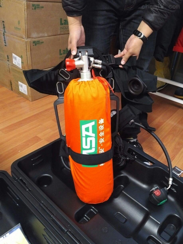 梅思安升級設計AX2100空氣呼吸器