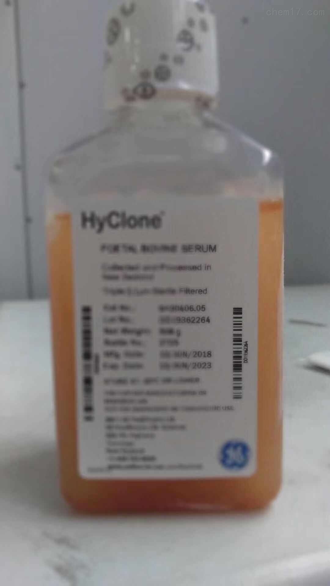 Hyclone胎牛血清SH30406.05