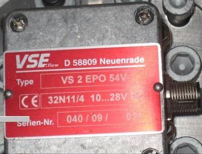 德国VSE齿轮流量计VS4/16 GP054V32W15现货