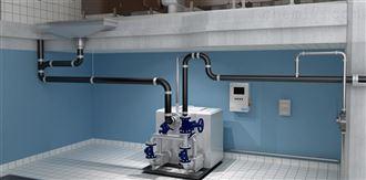 别墅型卫生间污水提升设备