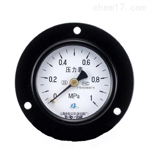 普通压力表 Y-60ZT