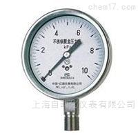 YE-100 B不锈钢膜盒压力表