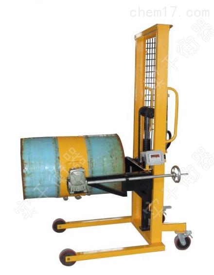 可翻转倒料车电子秤,高精度搬运倒桶秤