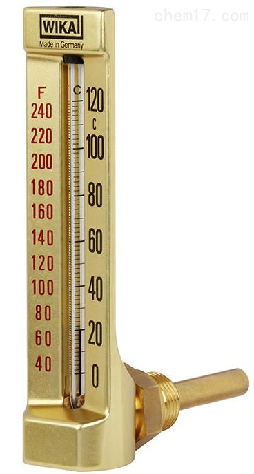 德国威卡WIKA温度计机械式玻璃管