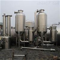 1-5吨 二手双效降膜蒸发器价格 各种多效