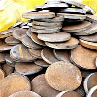 国标碳钢法兰盘毛坯市场价