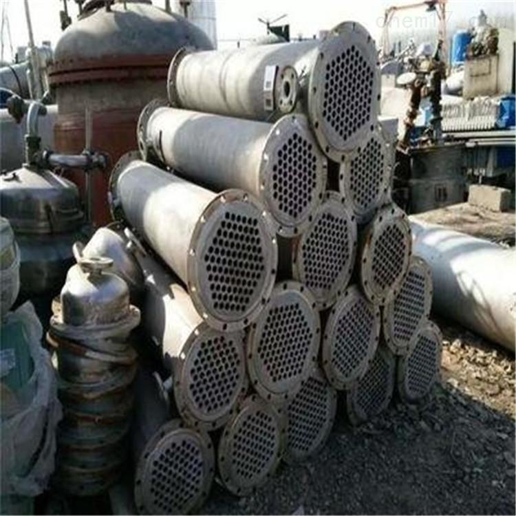 在线出售60平方二手不锈钢列管冷凝器