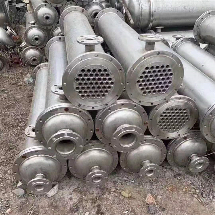 低价处理一批二手不锈钢列管冷凝器