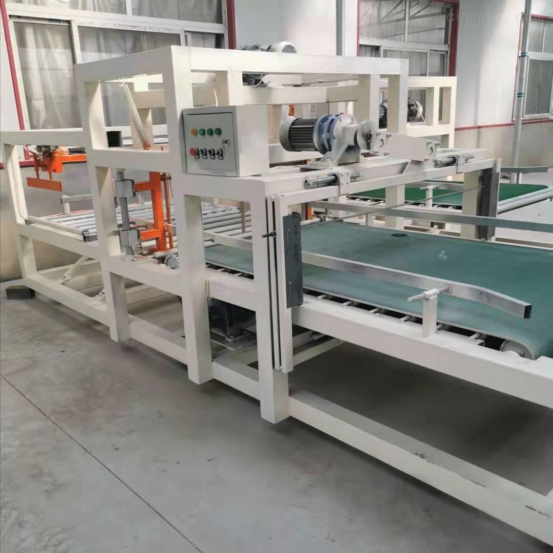 模箱压制型匀质板切割机设备厂家现场指导