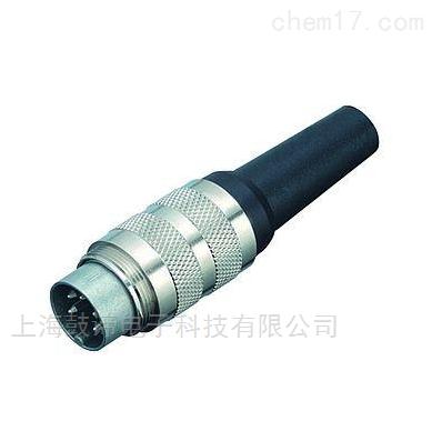 宾德M16连接器-针头-带屏蔽夹