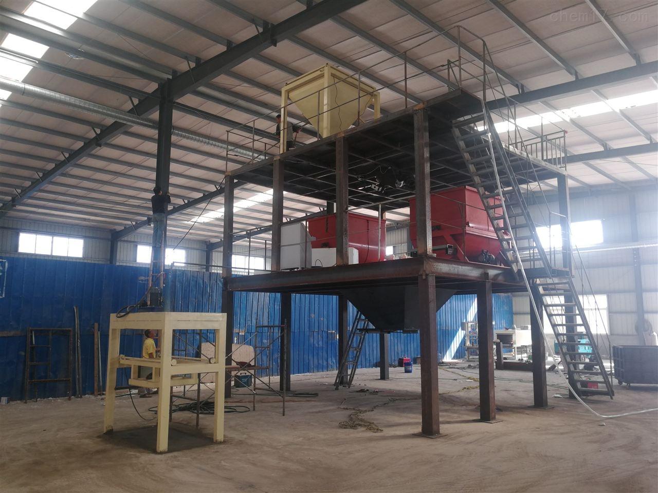 流淌型匀质板聚合物聚苯板设备施工工艺