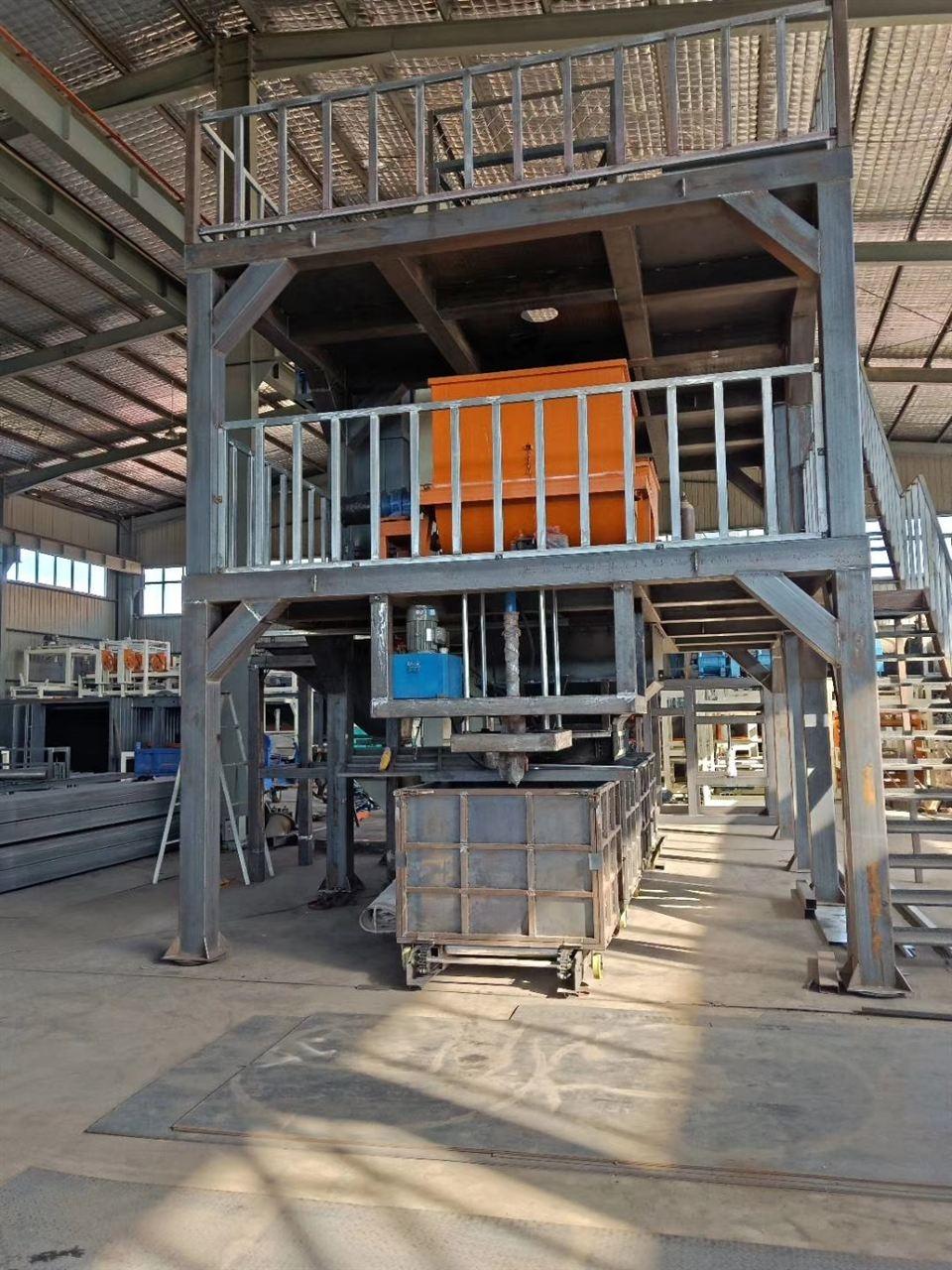 模仿压制水泥基聚苯保温板设备