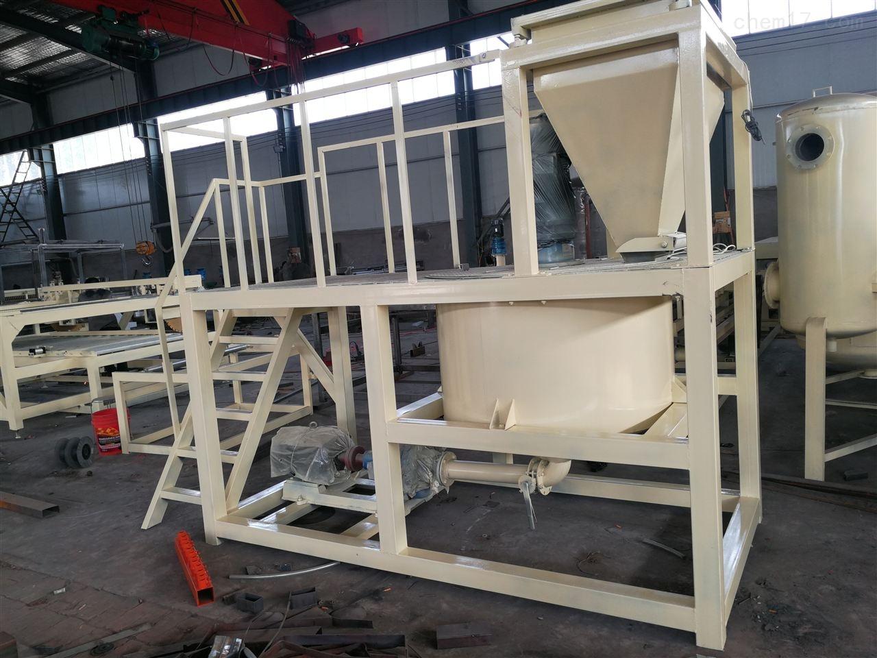 新一代水泥发泡保温板搅拌系统设备产量高