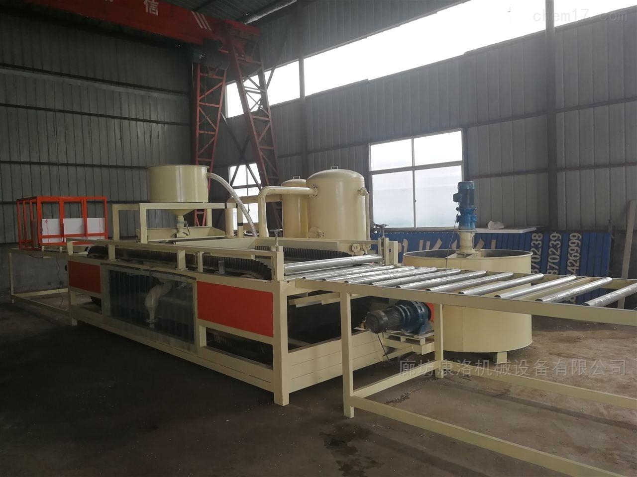 水泥基复合改性硅质聚苯板设备厂家报价