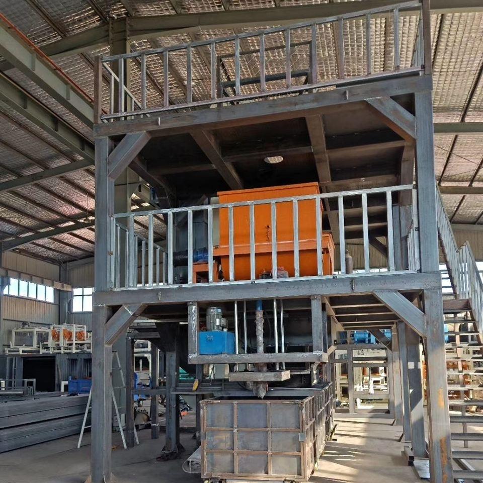 流淌型匀质板设备与压制水泥保温板机器厂家