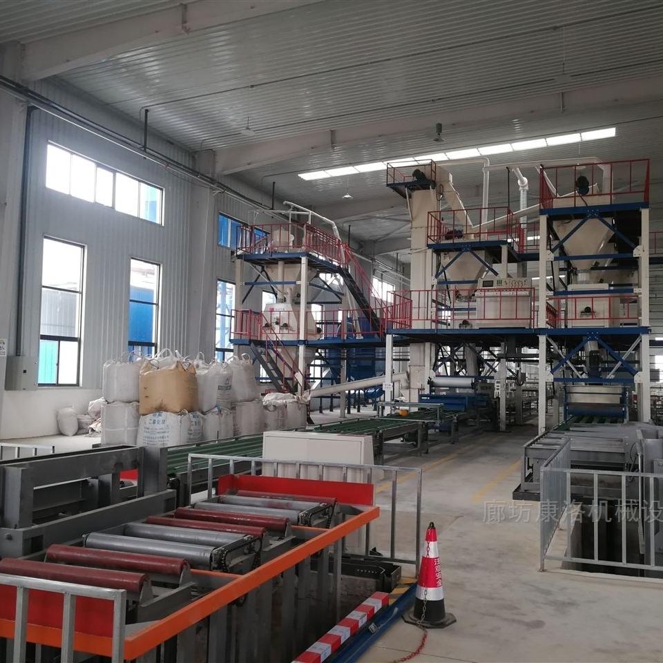 复合免拆保温板一体板设备生产厂家