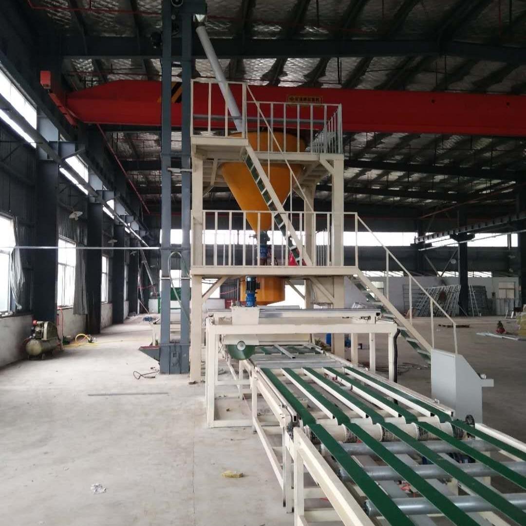 保温岩棉复合聚苯板生产设备