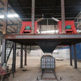 KL-55震动式热固复合匀质板设备生产的环保产品