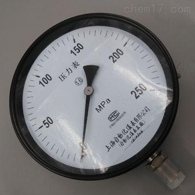 Y250高压压力表0~400MPa