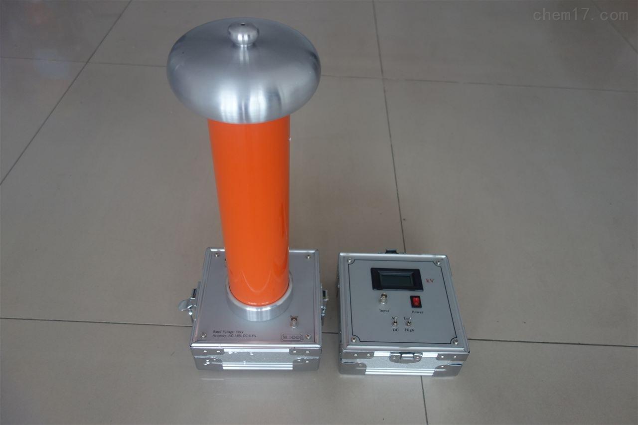 阻容式交直流分压器电容