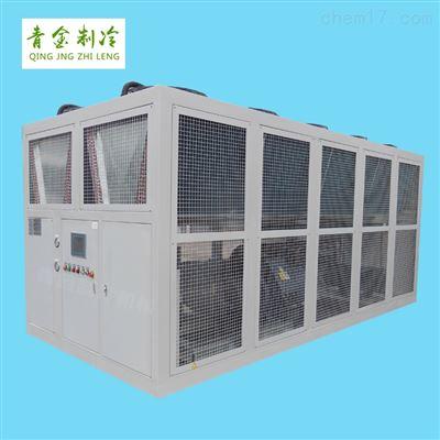 QX-200A反應釜降溫大型風冷式螺桿冷水機組